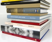 Content Management - Books vertical stack