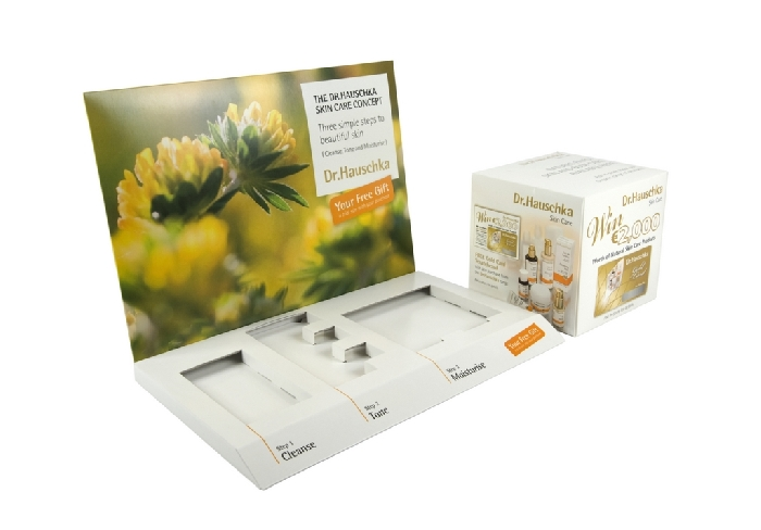 Content Management - Dr Hauschka display