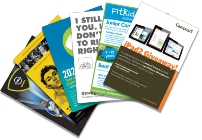 Image of litho printed flyers / inserts