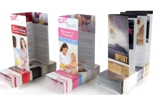 Image of litho printed folded leaflets