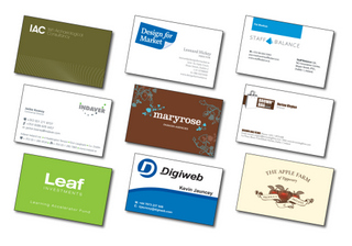 Content Management - Business Cards