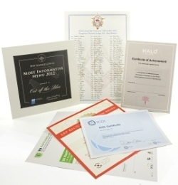 Content Management - Certificates