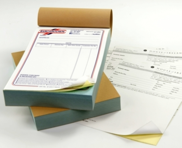 Image for Receipt books